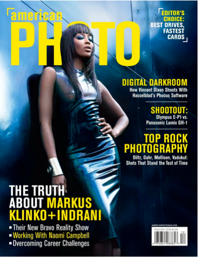 Contributing Editor with AMERICAN PHOTO Magazine