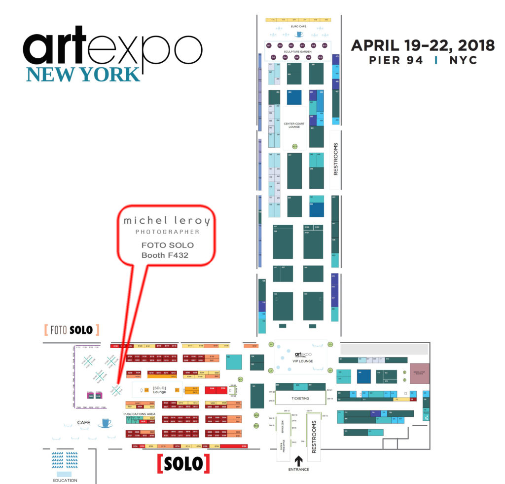 ArtExpo New York - Meet the Artist - Michel Leroy