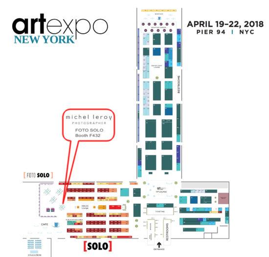 ArtExpo New York – Meet the Artist – Michel Leroy