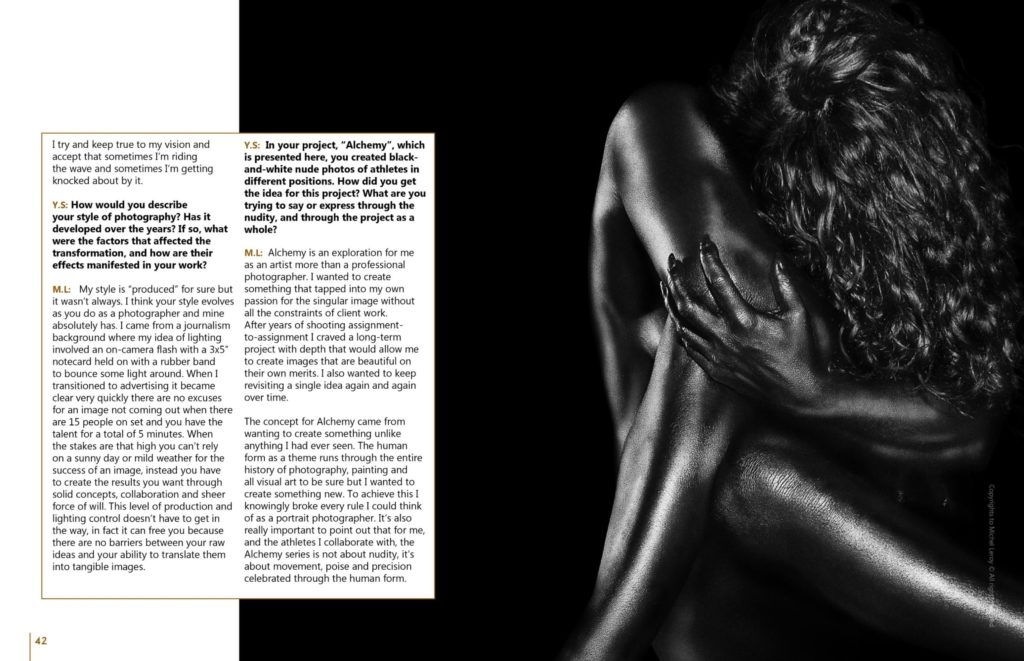 Michel Leroy Art Market Magazine Feature - Alchemy Series
