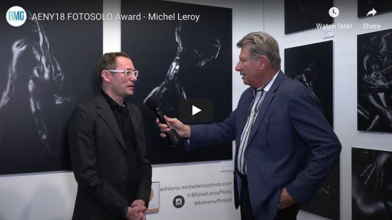 Michel Leroy receives FotoSolo Pier 94, Excellence in Photography Award for Alchemy Series