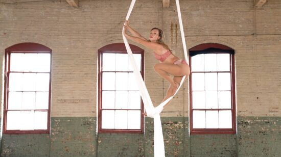 Aerialist Alexandria Silk Video