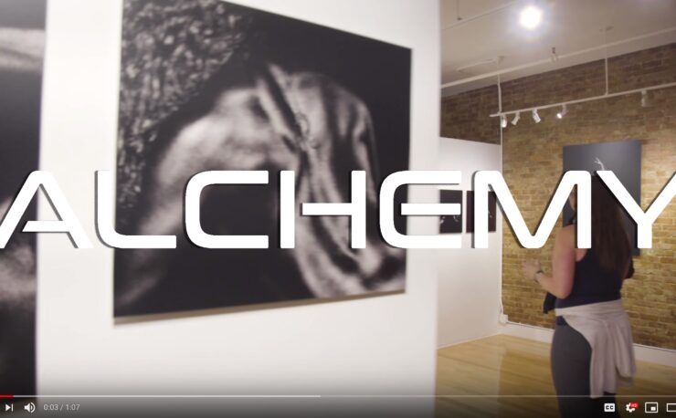Michel Leroy Alchemy exhibition at Gallery Max SoHo