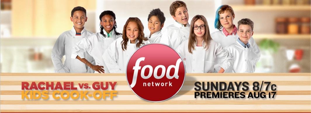 Food Network, Season two, Rachael vs Guy Kids-Cook-Off, 2014, Michel Leroy PHOTO