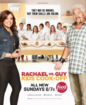 Food Network, Season two, Rachael vs Guy Kids-Cook-Off, 2014, Michel Leroy PHOTO