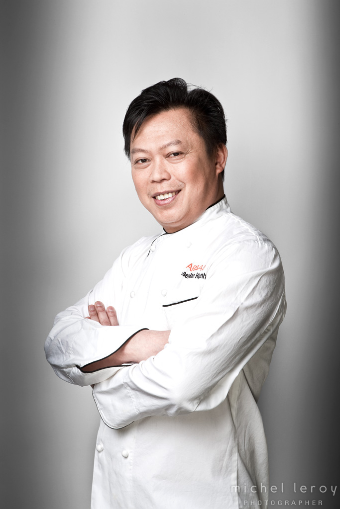 Chef Michael Huynh by Michel Leroy