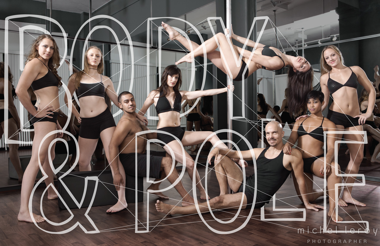 Ensemble Group by Michel Leroy for Body & Pole
