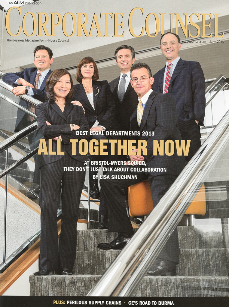 Corporate Counsel – Best Legal Departments 2013