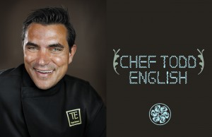 Celebity chef Todd English by Michel Leroy
