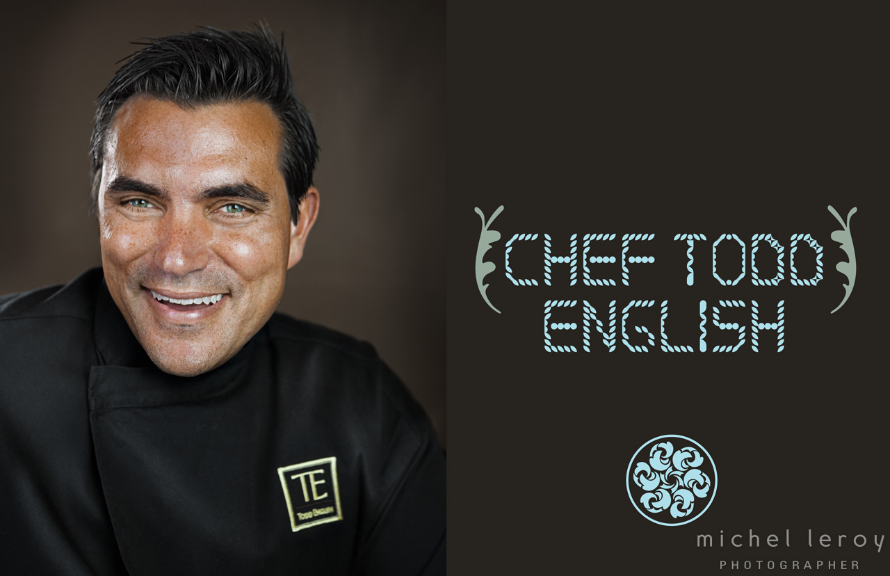 Celebrity chef Todd English by Michel Leroy