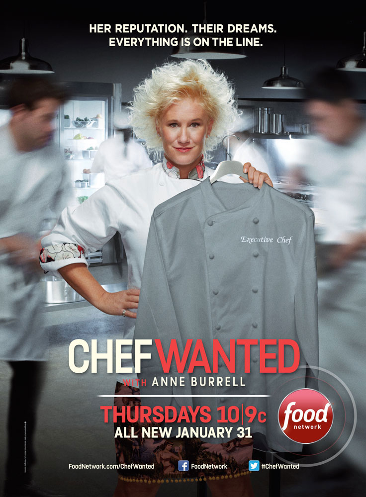 Food Network Campaign with Anne Burrell