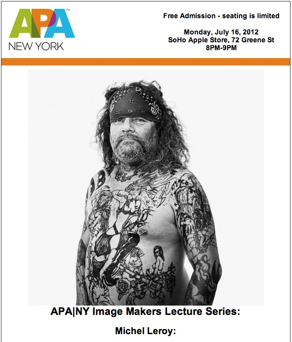 APA|NY Image Makers Lecture Series at Apple Soho