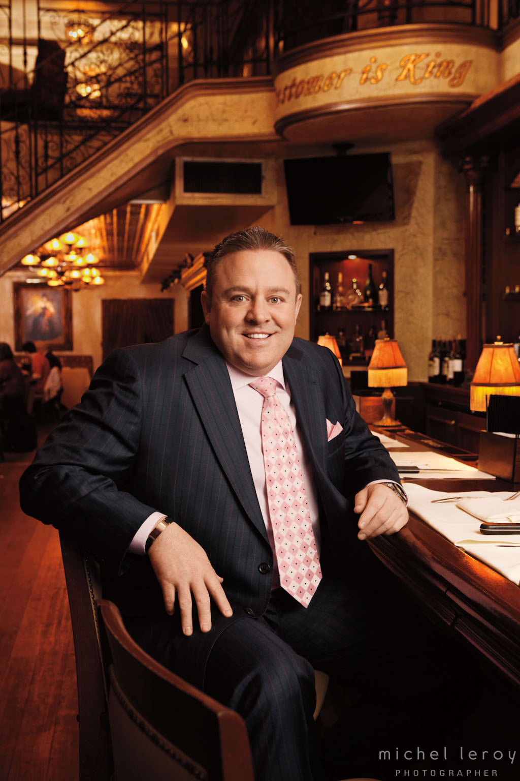 Restaurant Stakeout with Willie Degel