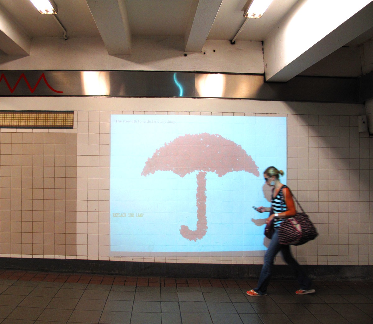 Travelers Interactive WallFX Ads